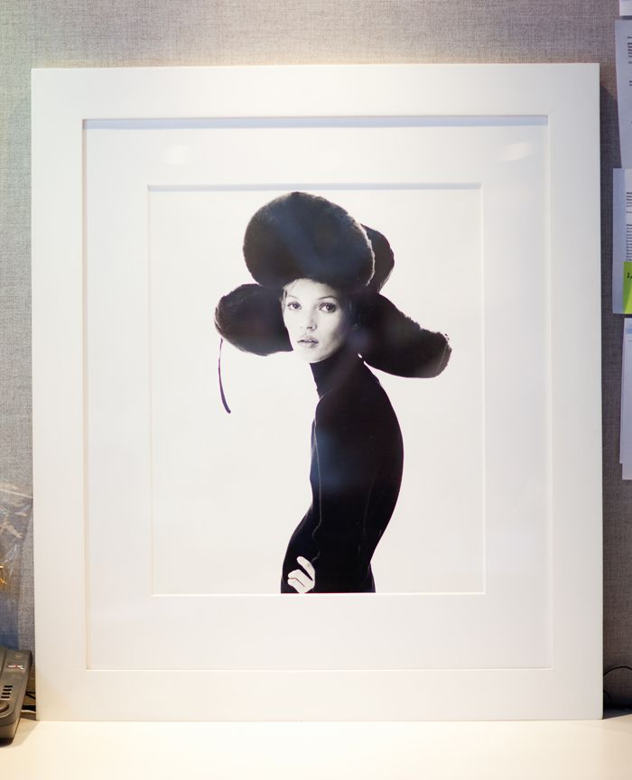 Hello, Kate! From Jennifer Fisher's art collection... (Photograph by Rima Campbell)
