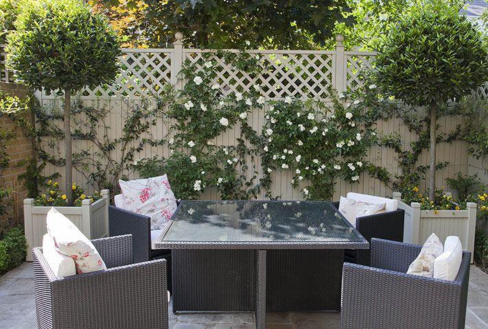 Credit: Sophia Evans/Sophia Evans In a back garden in Chiswick, west London, garden designer Kate Goul...