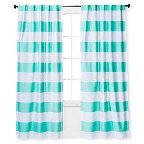 Twill Light Blocking Curtain Panel Stripe Pillowfort