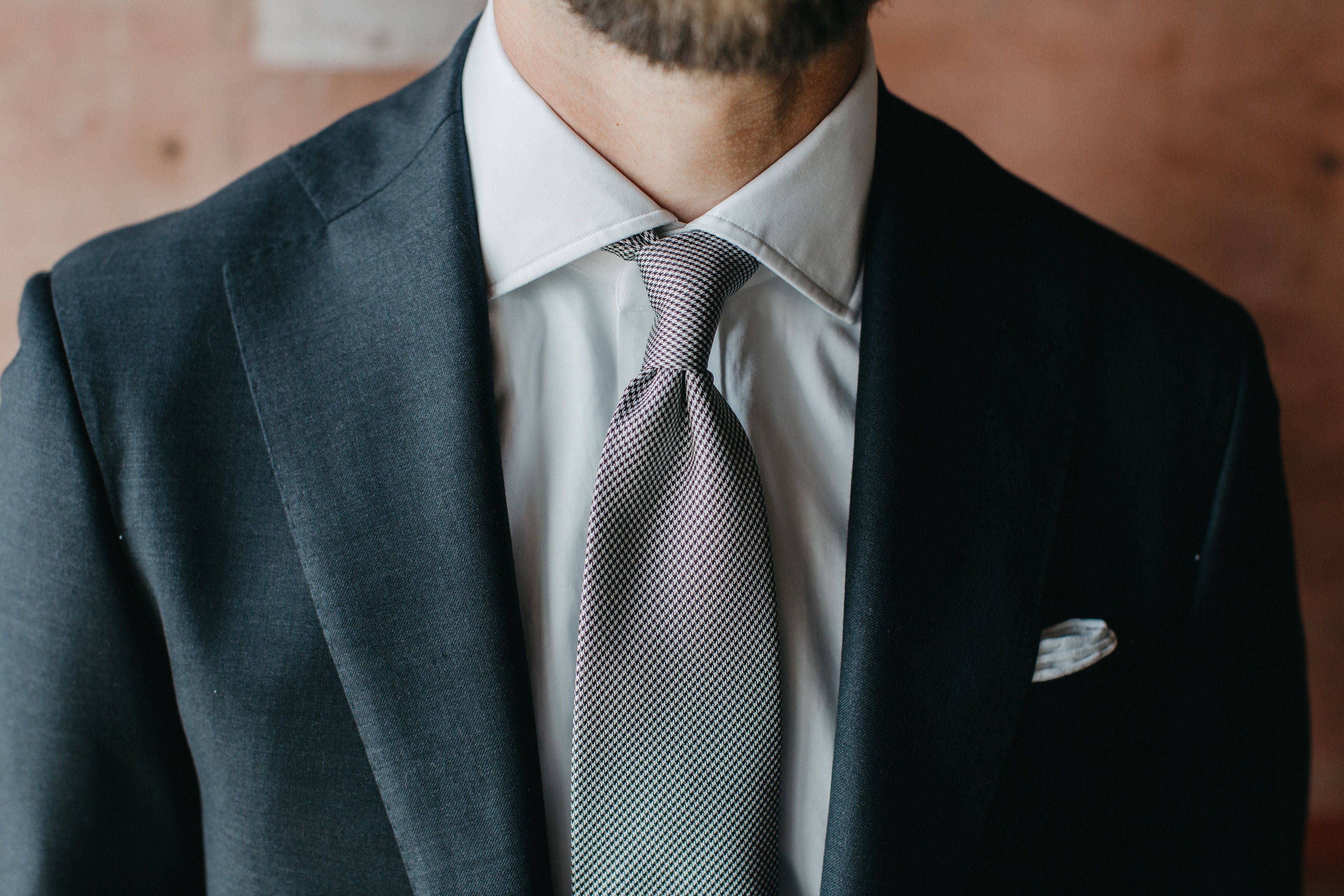 A Traditional Wedding Tie