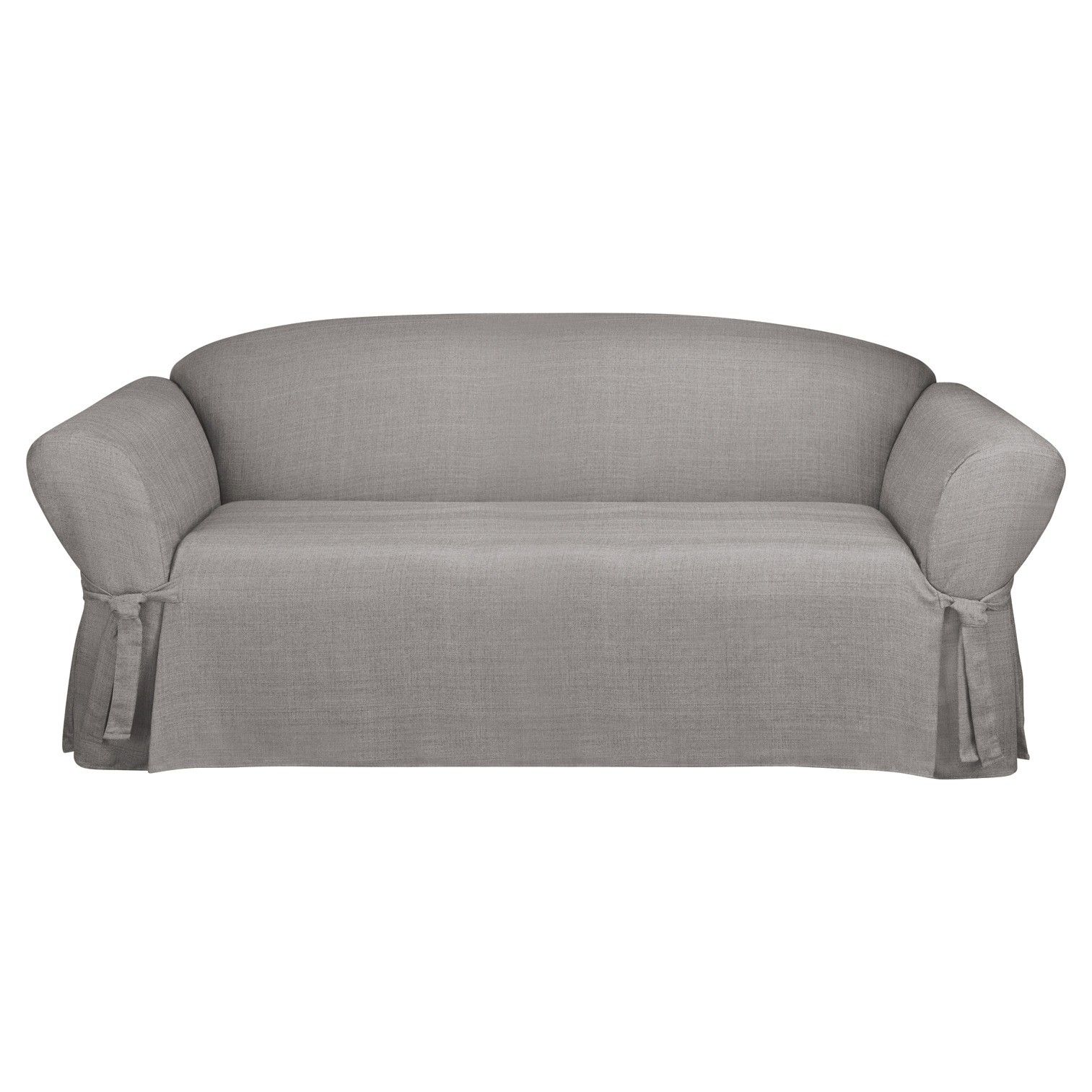 piece sofa white solid post embossing furniture slipcover sure related grey seersucker fit loveseat stretch color cover