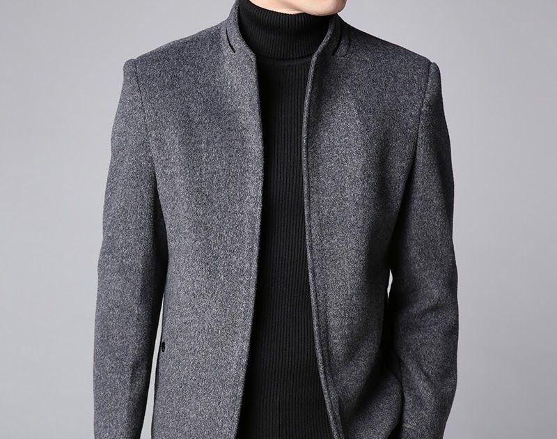 Cheapest 2018 winter new fashion brand coat men slim fit