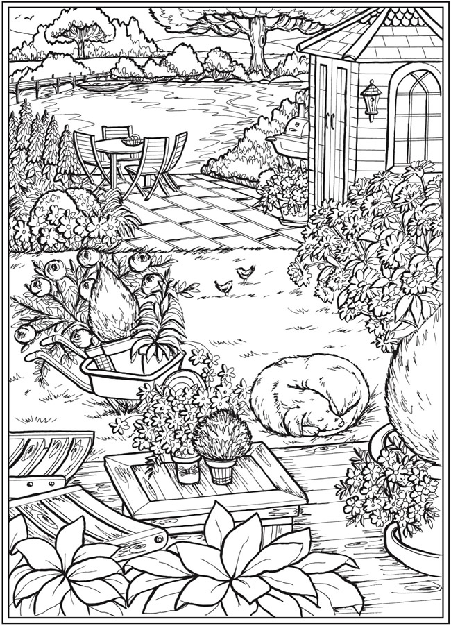 - Welcome To Dover Publications In 2020 Garden Coloring Pages, Coloring  Pages, Dover Coloring Pages
