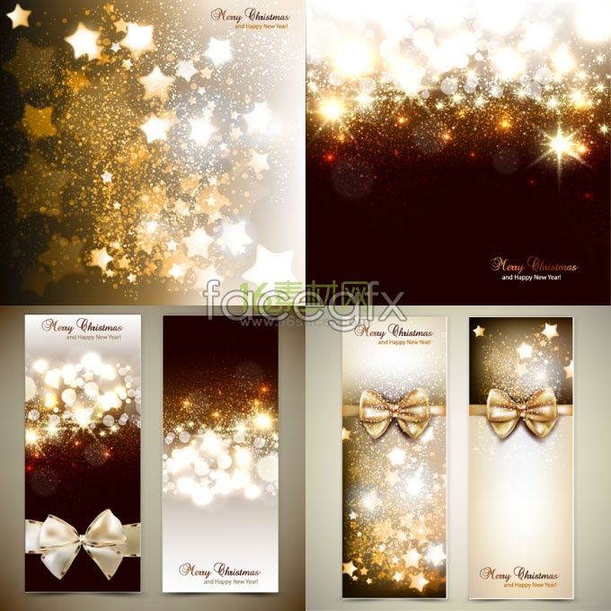 Classy Christmas Banners Pop Up Banners