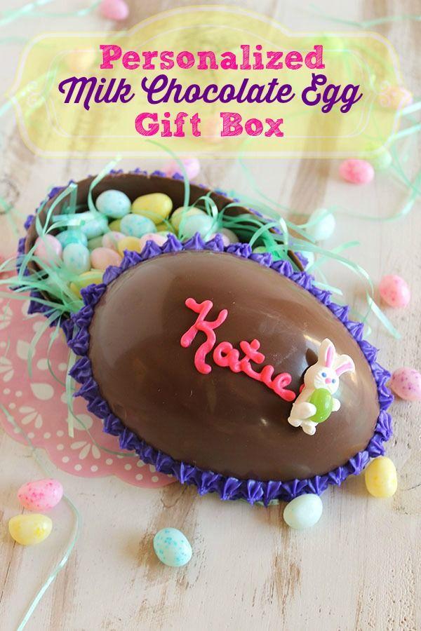 Milk chocolate egg gift box recipe chocolate easter eggs milk chocolate egg gift box easter recipeseaster negle Images