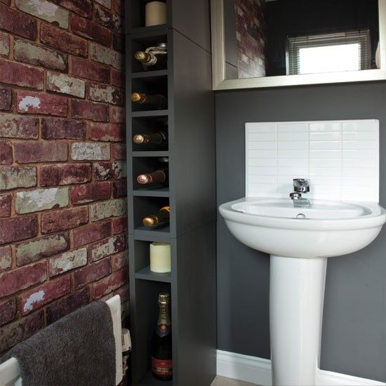 Prime Wallpaper Effect Bathroom Make This Place A Home Brick Download Free Architecture Designs Ogrambritishbridgeorg