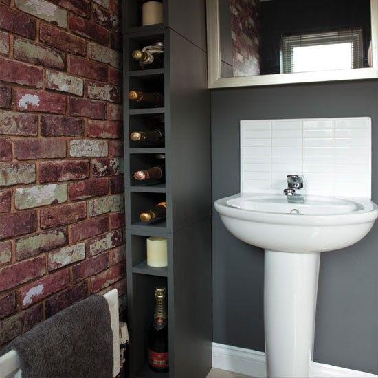 looking good bath mat | bricks and quirky bathroom