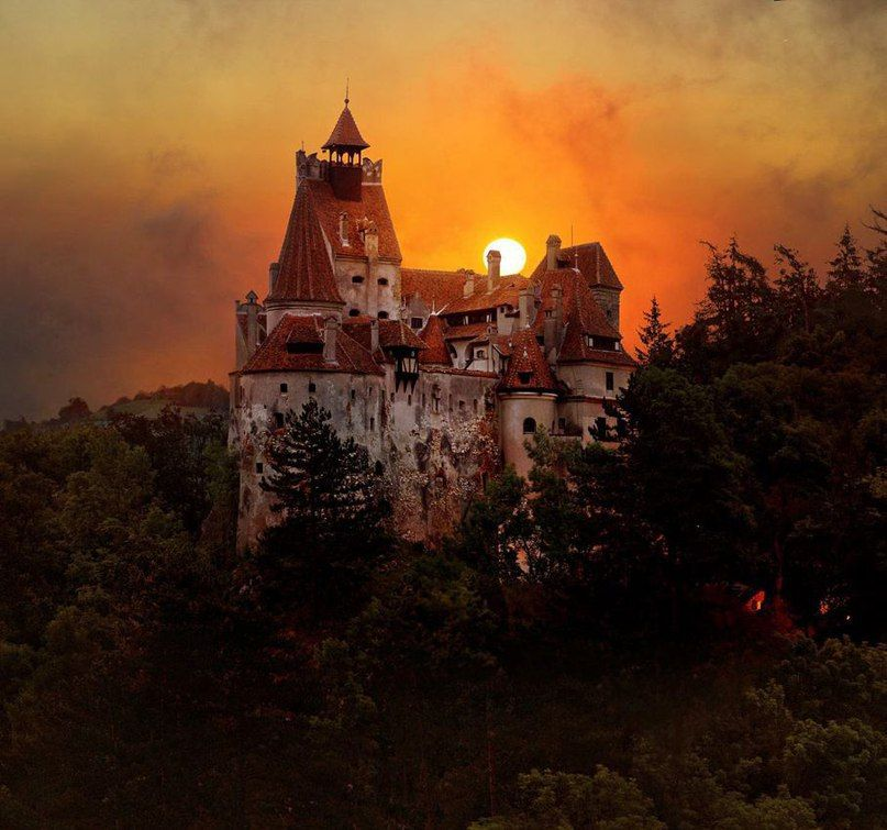 смотреть картинки замок дракулы
