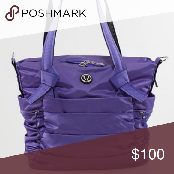 e223d847dbd Lululemon workout bag Like new! Purple Lululemon bag perfect for workout or  travel! lululemon athletica Bags