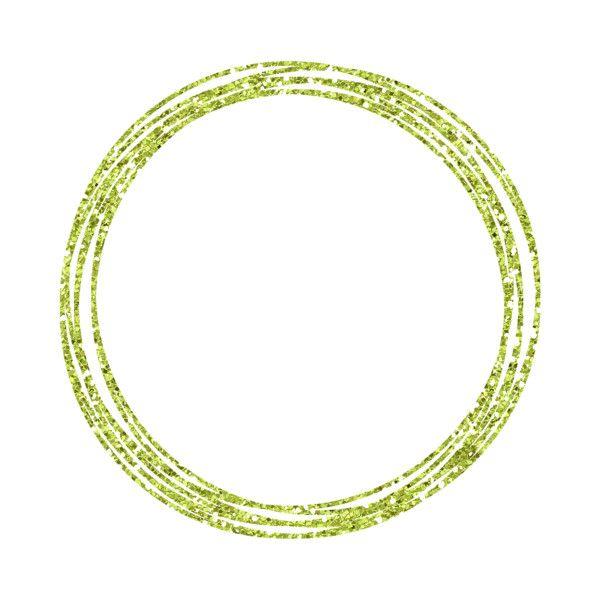 Ettes Scribbled Circles Green Glitter Png Liked On Polyvore Featuring Circle Borders Art Circular Picture Frame And R Circle Clothes Design Green Glitter