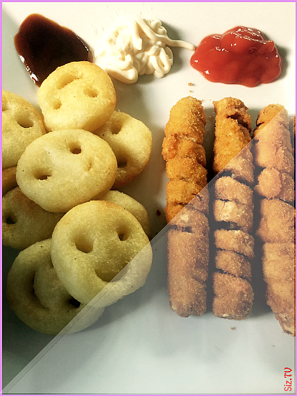 Growing up British your school lunches consisted of turkey twizzlers or a floppy sandwich from home