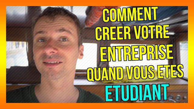 Comment créer votre ENTREPRISE quand vous êtes ÉTUDIANT :) : https://www.youtube.com/watch?v=CRNRrmLPhoU&list=PLlNaq4hbeacQso7BcO89UKoc9r0qh5kCL :) #Entreprise #Entrepreneur #Etudiant