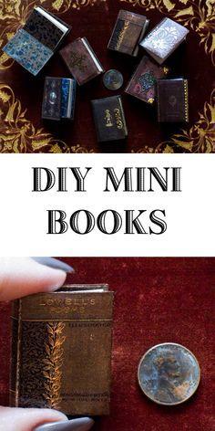 Miniature Books - A Love Affair   Thicketworks