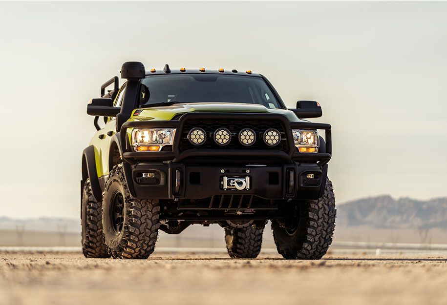 (3) AEV Prospector XL Dodge Ram 4x4 diesel - YouTube