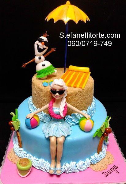 FROZEN CAKE SUMMER TIME Cake by stefanelli torte CakesDecor