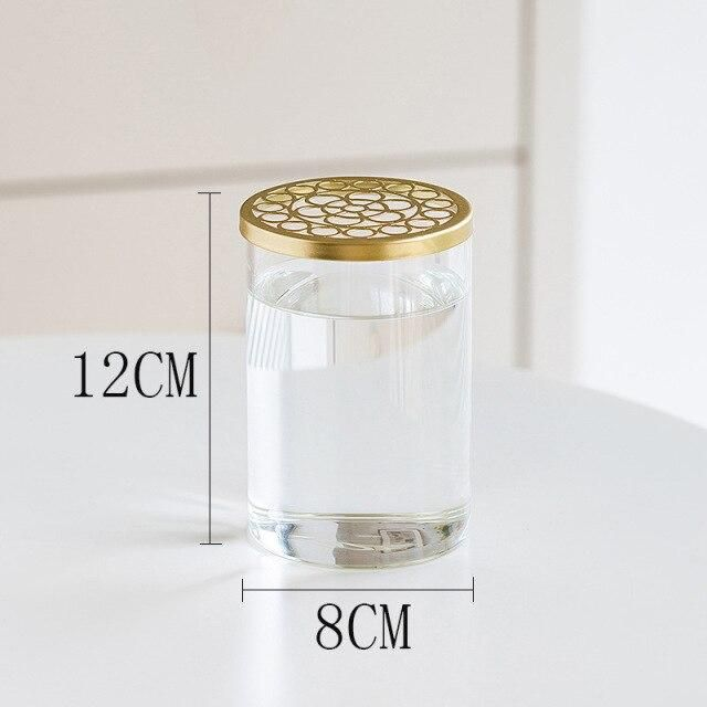 Photo of Vase Home Decor Living Room Household Transparent Glass Straight Cylinder ваза Creative Nordic Flower Pot Decoration декор дома – as picture1