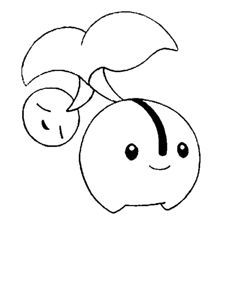 Pokemon Cherubi Coloring Pages | Coloring Pages/LineArt Pokemon ...