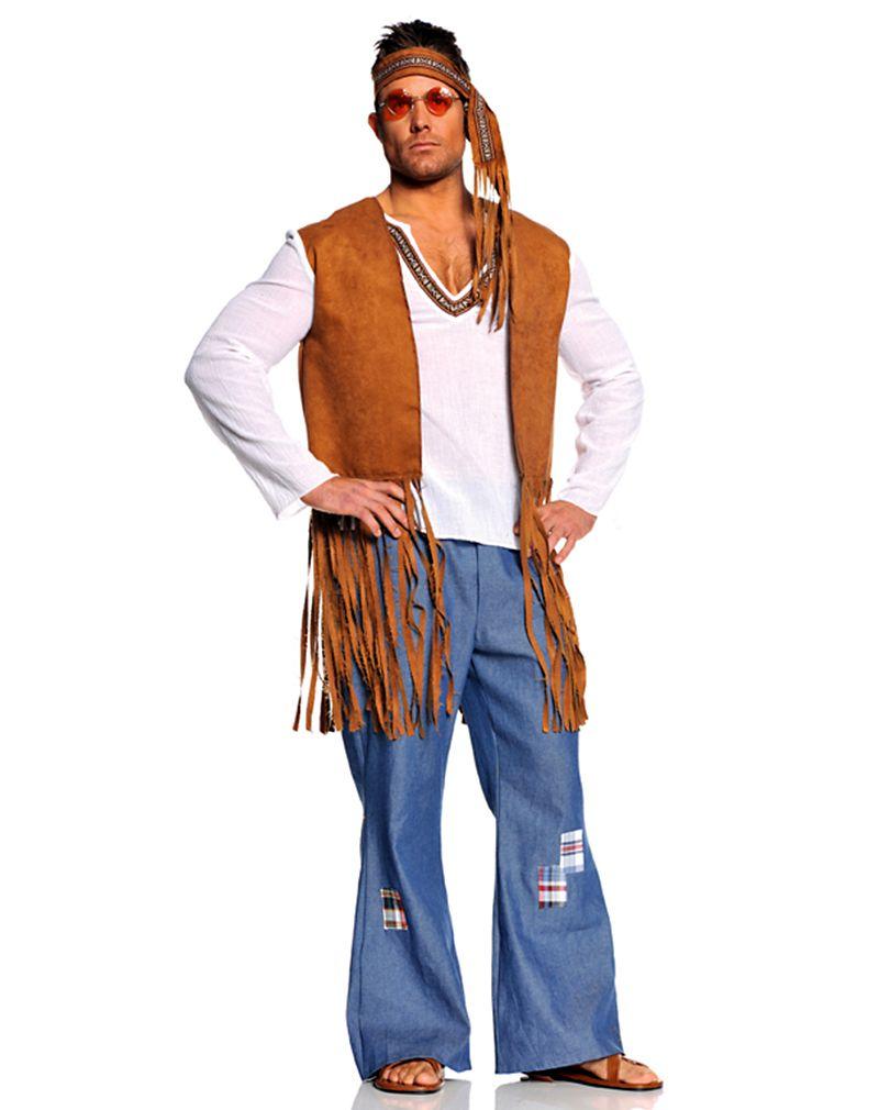 Hippie Costume Men in 2019  15f240d7577