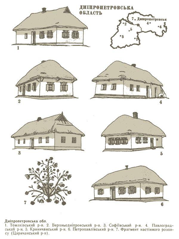 Ukrainskie Haty Po Oblastyam I Rajonam 26 Foto Narodnaya