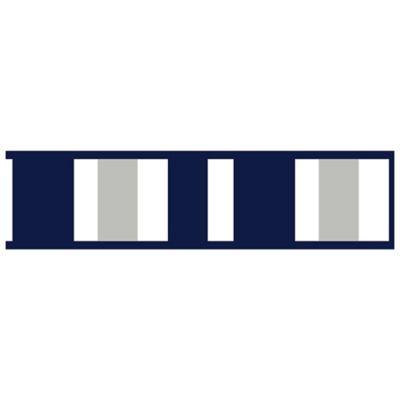 Sweet Jojo Designs Navy And Grey Stripe Wallpaper Border Bed Bath Beyond Striped Wallpaper Border Striped Wallpaper Sweet Jojo Designs
