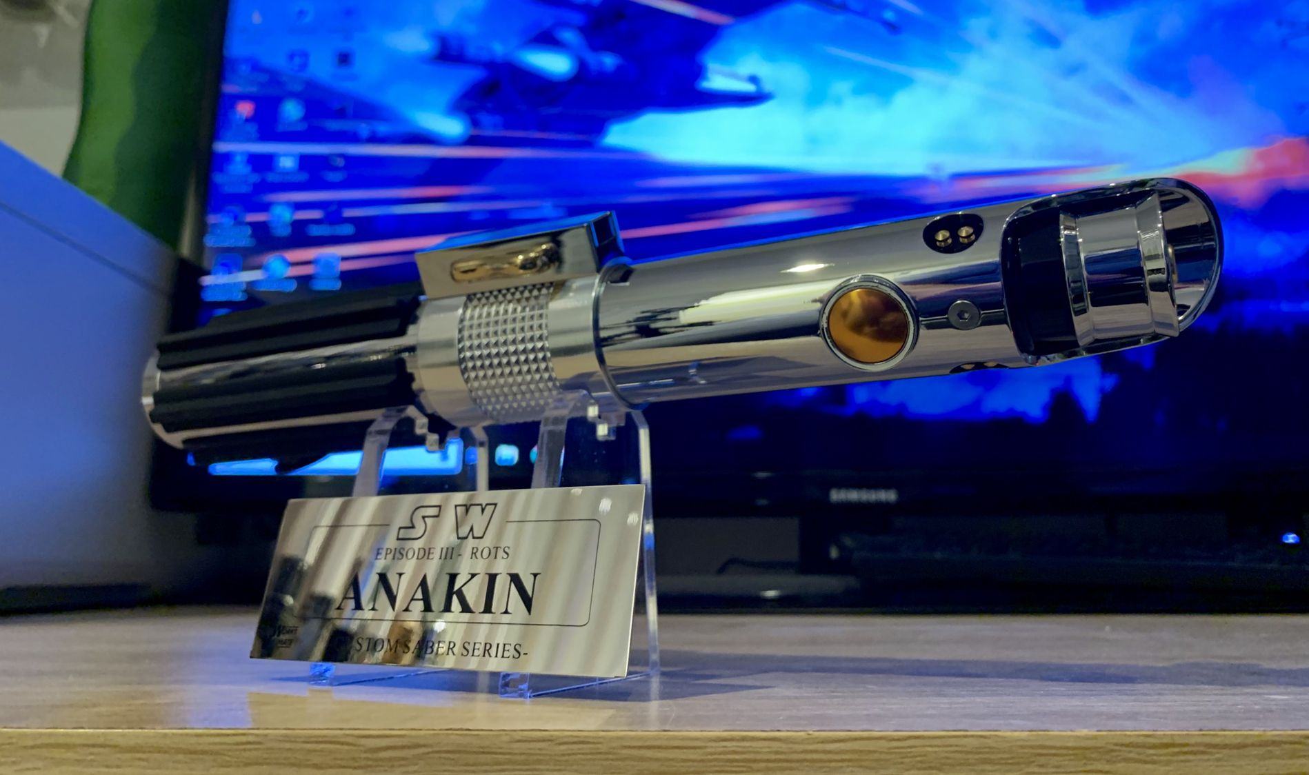 Pin by Justin Yahoudy on Lightsaber | Lightsaber, Anakin ...