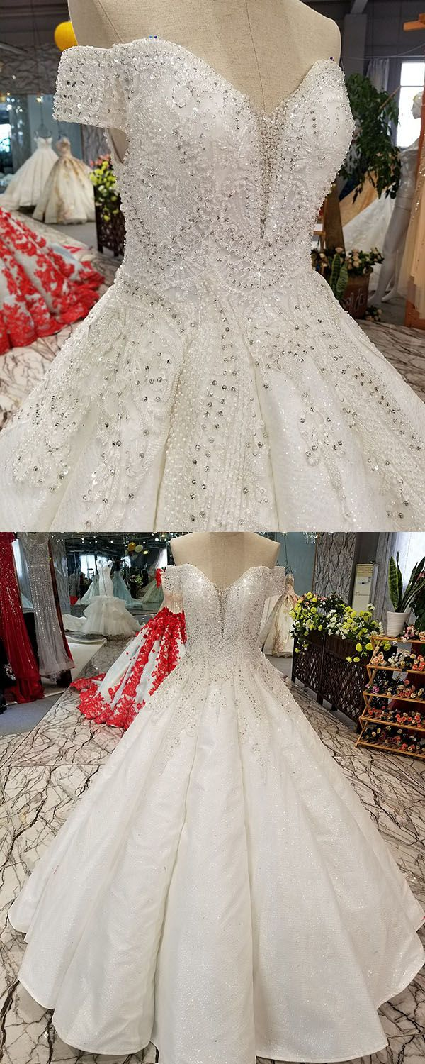 ball gown wedding dresses with cap sleeves sparkly wedding