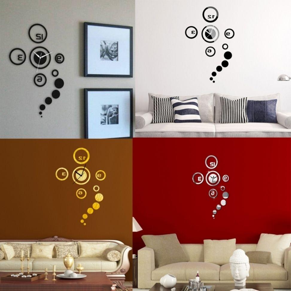 Charmant Ehrfürchtig Wohnzimmer Wanduhr Dekoration