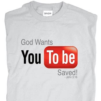 ded9180f Youtube Christian Shirt | Shirts I like | Christian shirts, Jesus ...