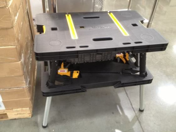 Keter Folding Work Table 39 99 Costco Ymmv The Garage Journal Board Work Table Keter Folding Work Table Maintenance Tools
