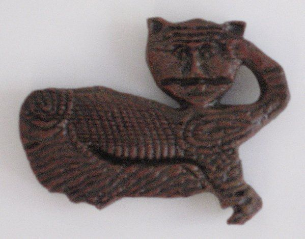 Kitten in the viking age. Oseberg kitten!!