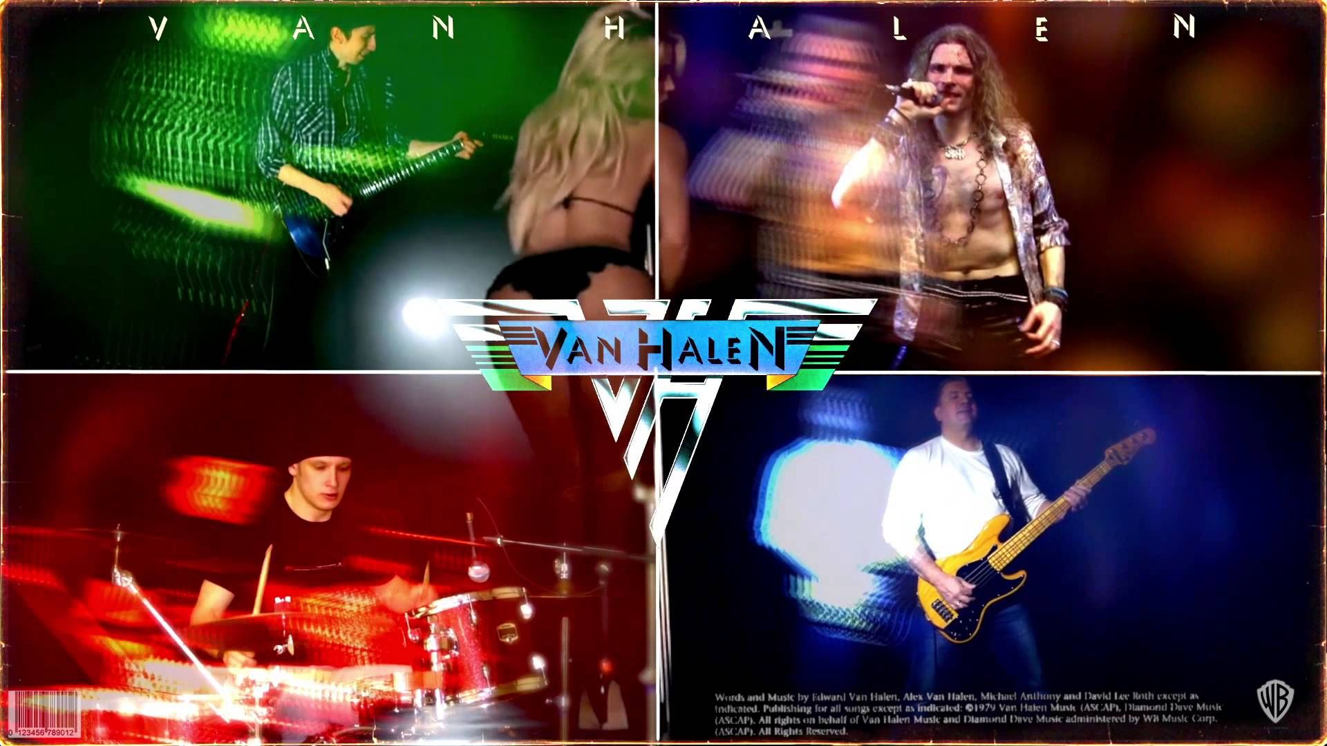 Ain T Talkin About Love A Van Halen Full Cover Collab With Images Van Halen Talk About Love