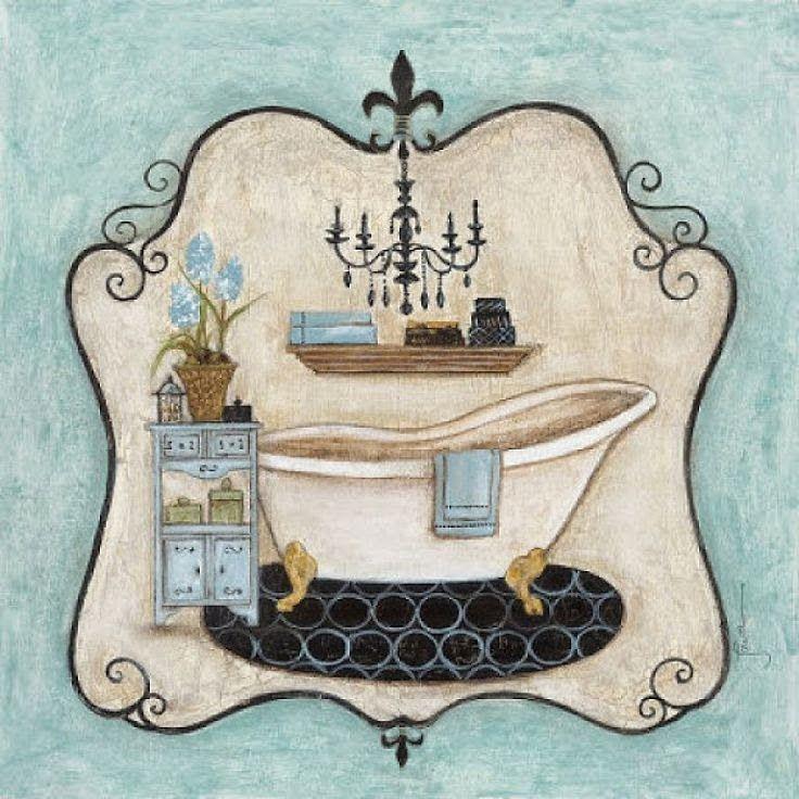 L minas d coupage ba o bathroom ba os pinterest - Laminas para banos ...