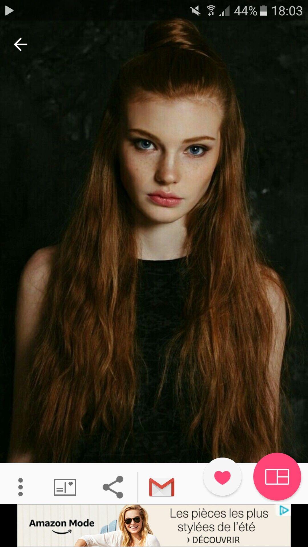 Dasha Milko | Dasha Milko | Pinterest | Super long hair, Ginger hair ...