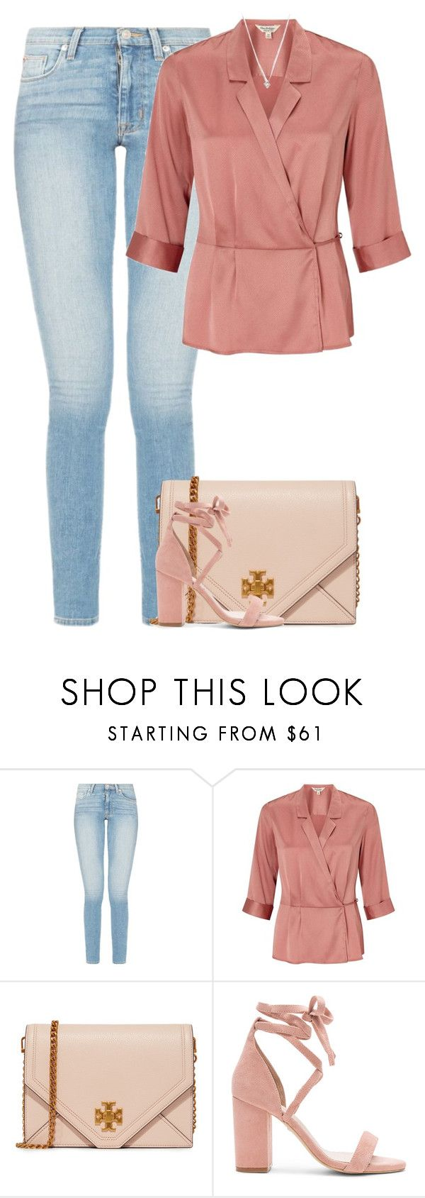 """""""Untitled #10412"""" by fanny483 ❤ liked on Polyvore featuring Miss Selfridge, Tory Burch and Raye"""