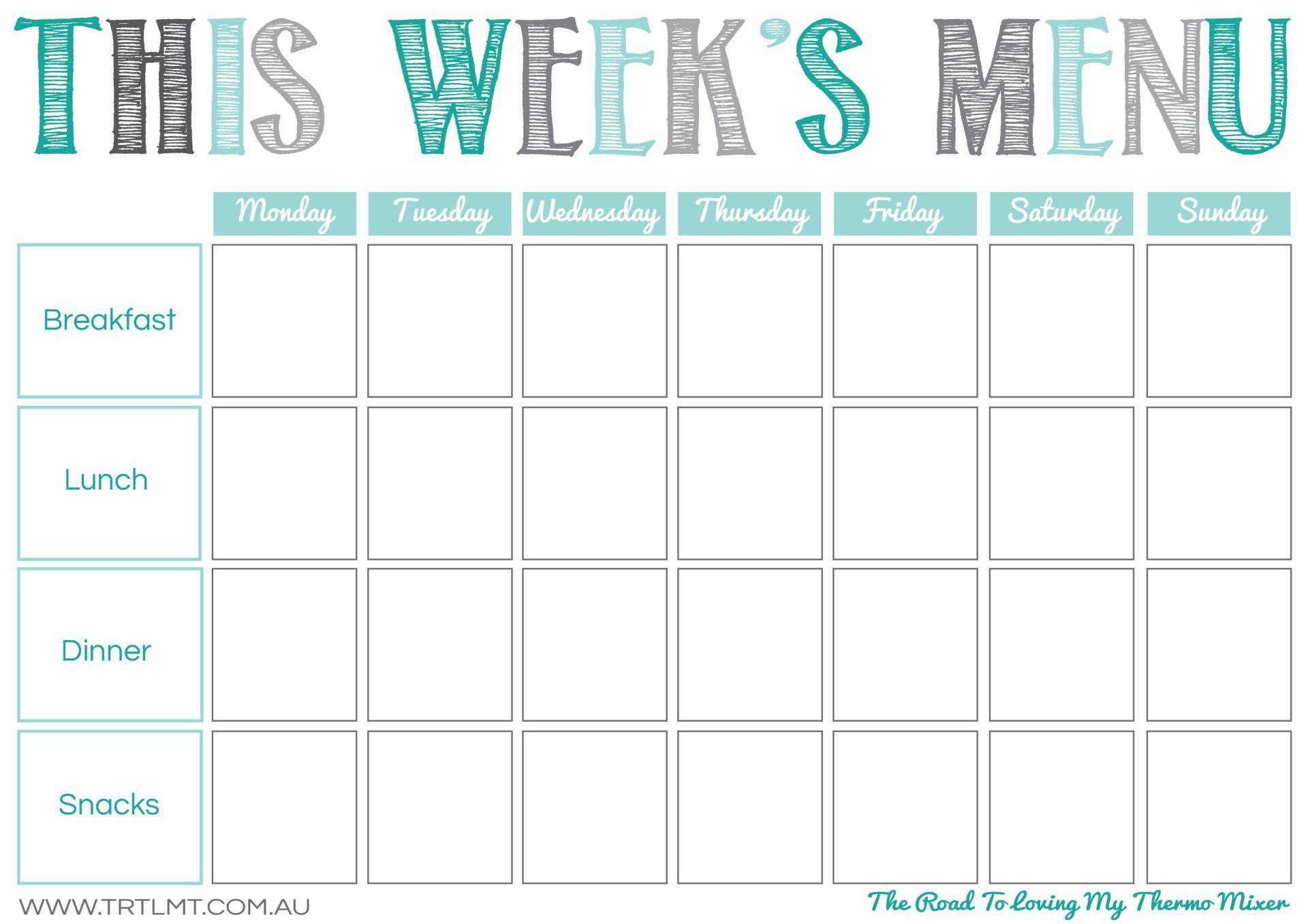 This Week S Menu 2 Fb