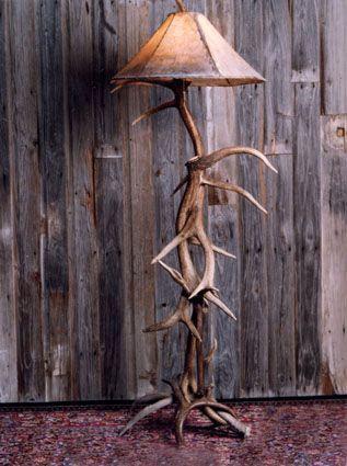 Decor Show Us Your Horns Decor Horns Antler Floor Lamp Western Home Decor Decor