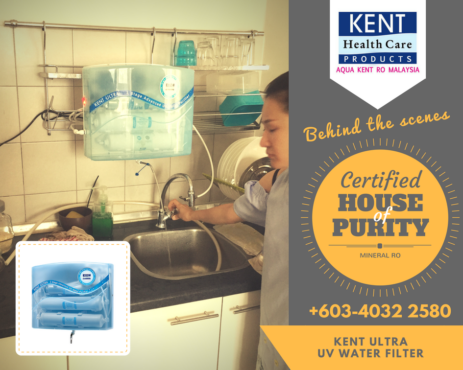 Kent Ultra is easy to afford online UV water purifier. It