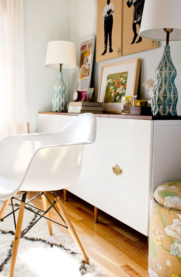 Fauxdenza With Some Simple Mid Century Furniture Legs Found At Ace Hardware Ikea Cabinet Bases Gloss White Doors Vintage On Fancy