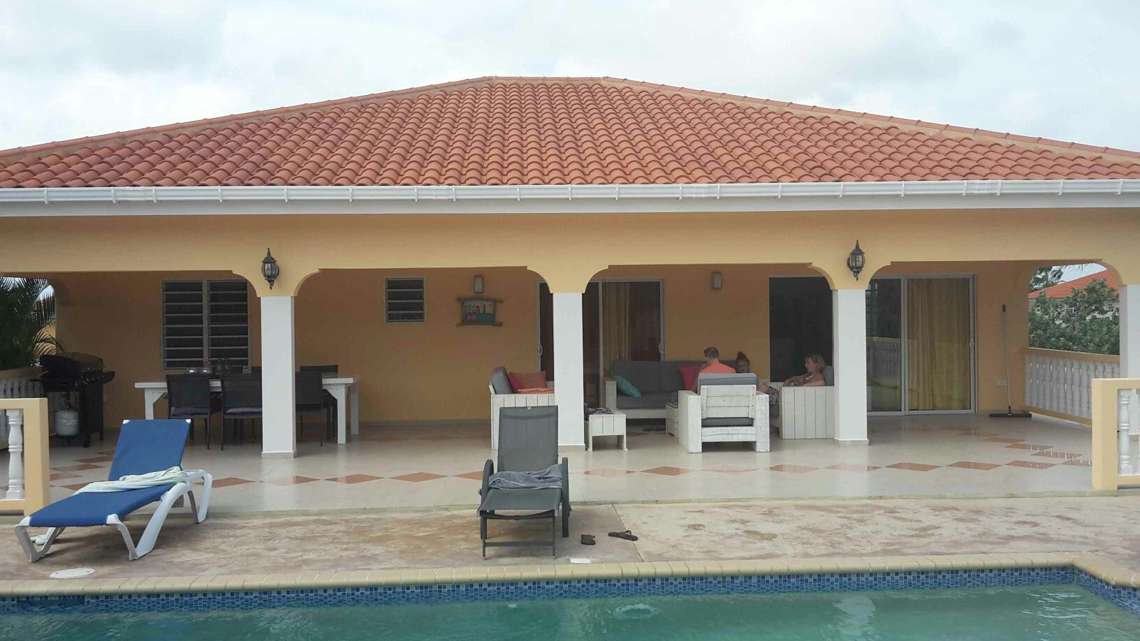 Villa Anemoon Curaçao. Echt top.
