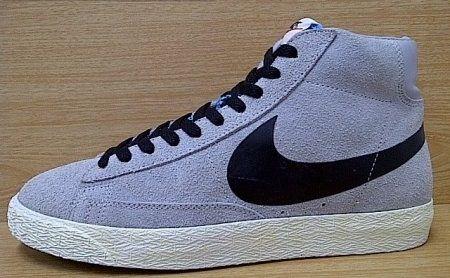 Kode Sepatu Nike Blazer Hi Vintage Grey Black Ukuran Sepatu 42