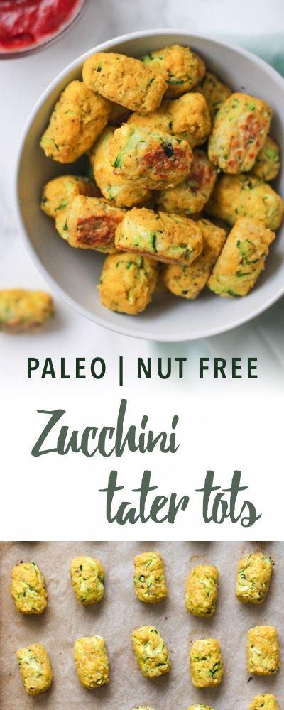 Paleo Zucchini Tater Tots   Recipe   Food warms my soul   Zucchini tater tots, Paleo vegetables ...