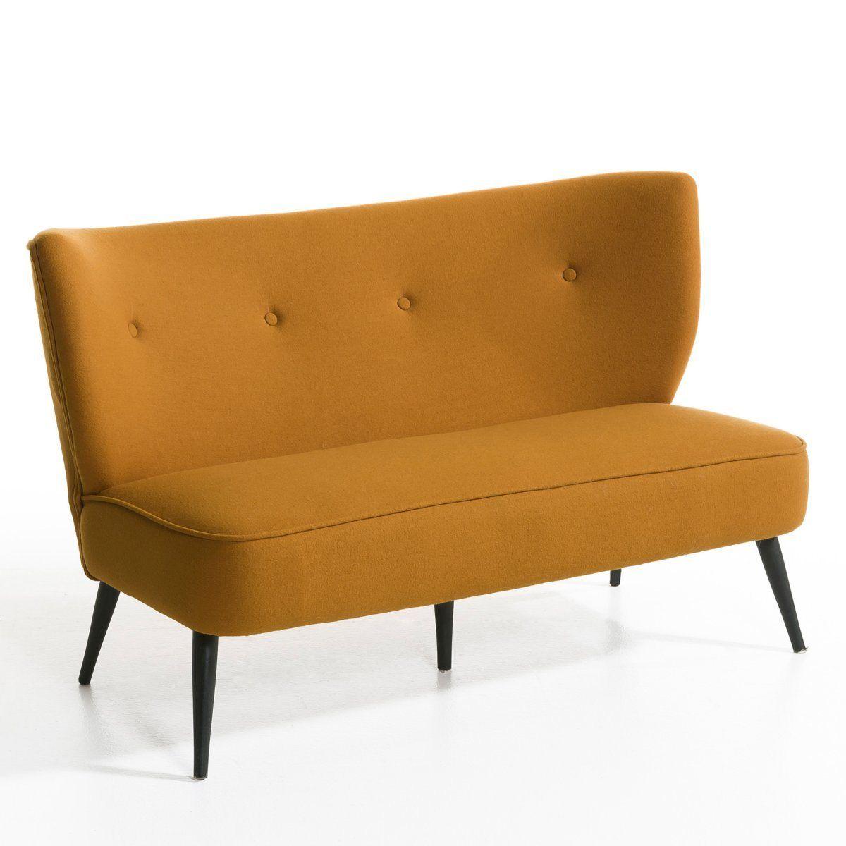 banquette franck flanelle am pm la redoute chaises fauteuils tabourets canap s. Black Bedroom Furniture Sets. Home Design Ideas