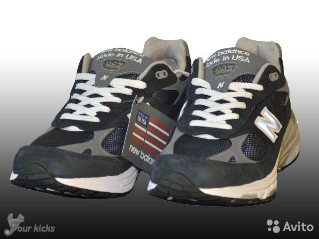6961b737bfca Атлетические кроссовки NEW BALANCE оригинал, модель USA 993 Running Shoe,  арт. MR993NV