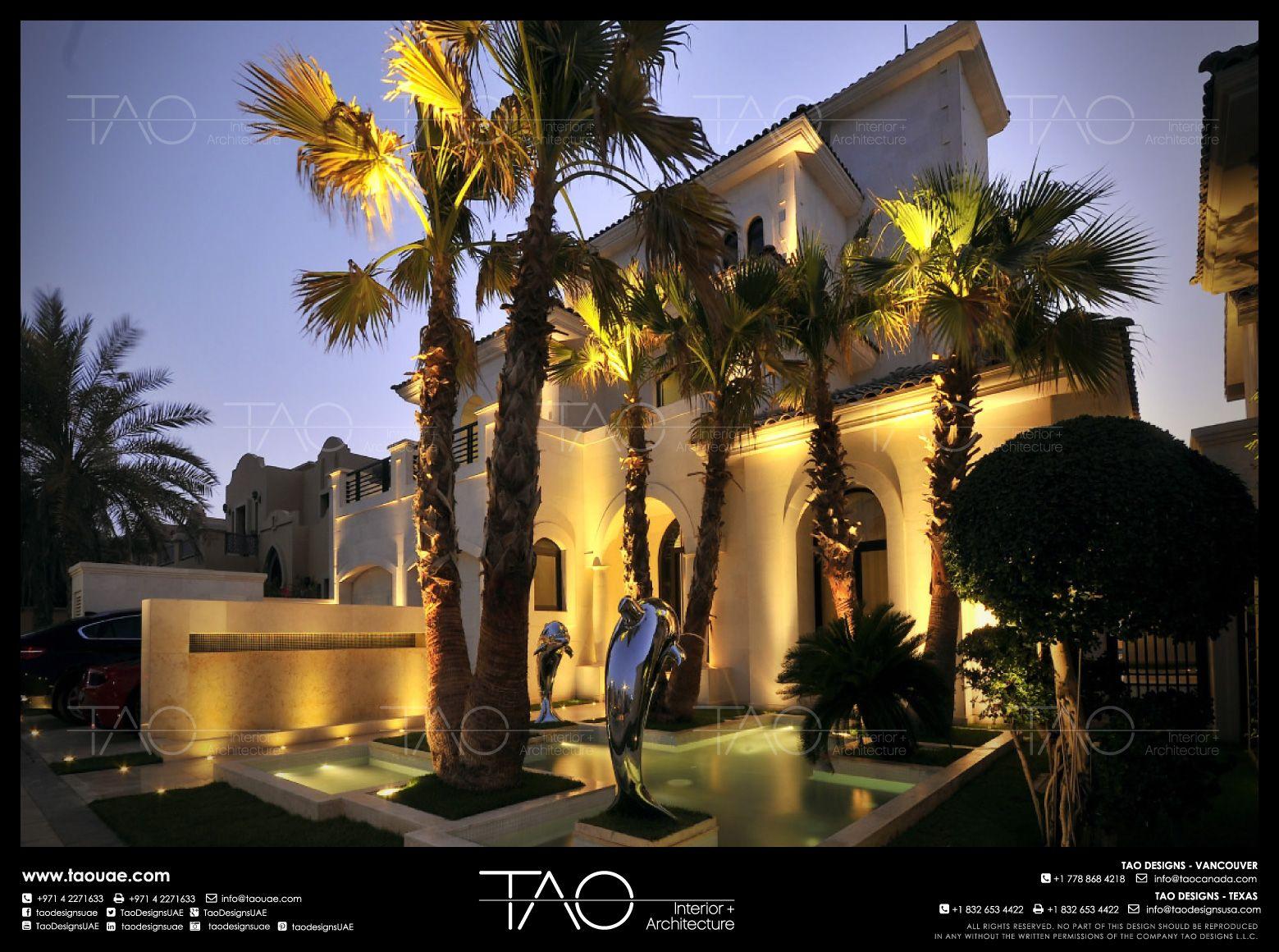 Private Villa   Main Entrance In Palm Jumeirah Dubai | By TAO Designs LLC |  #
