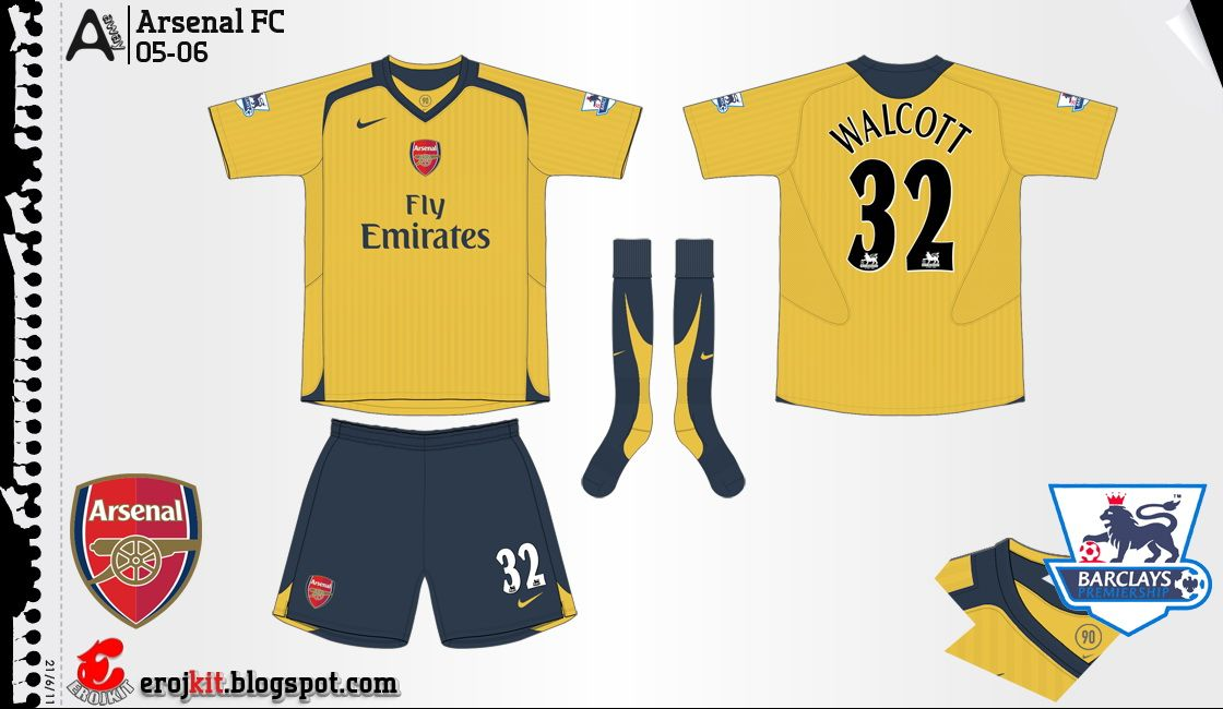 sports shoes 072df af9d8 Pin on Arsenal Kits History