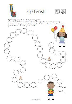 Thema Feest Juf Anke Lesidee Kleuters Kids Pinterest