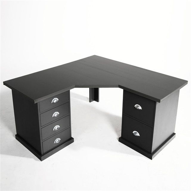 plateau d 39 angle pin tanguy am pm 150x150x74cm 150 bureau pinterest. Black Bedroom Furniture Sets. Home Design Ideas