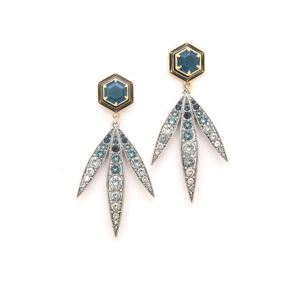 Lulu Frost Nicandra Drop Earrings 195 Liked On Polyvore Featuring Jewelry