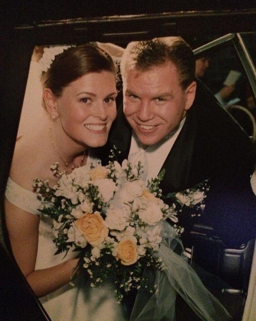 Happy 16th anniversary to my husband Mike Holdman. I