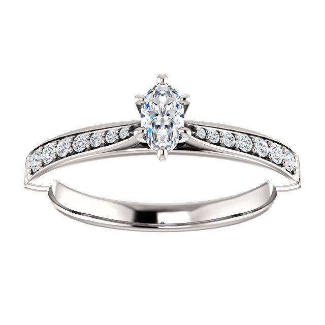 10kt White Gold 5x3mm Center Oval Genuine Diamonds And 14 Accent Round Diamonds Engagement Round Diamond Engagement Rings Jewelry Rings Diamond Beautiful Rings
